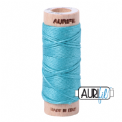 Aurifloss - 6-strand cotton floss - 5005 (Bright Turquoise)